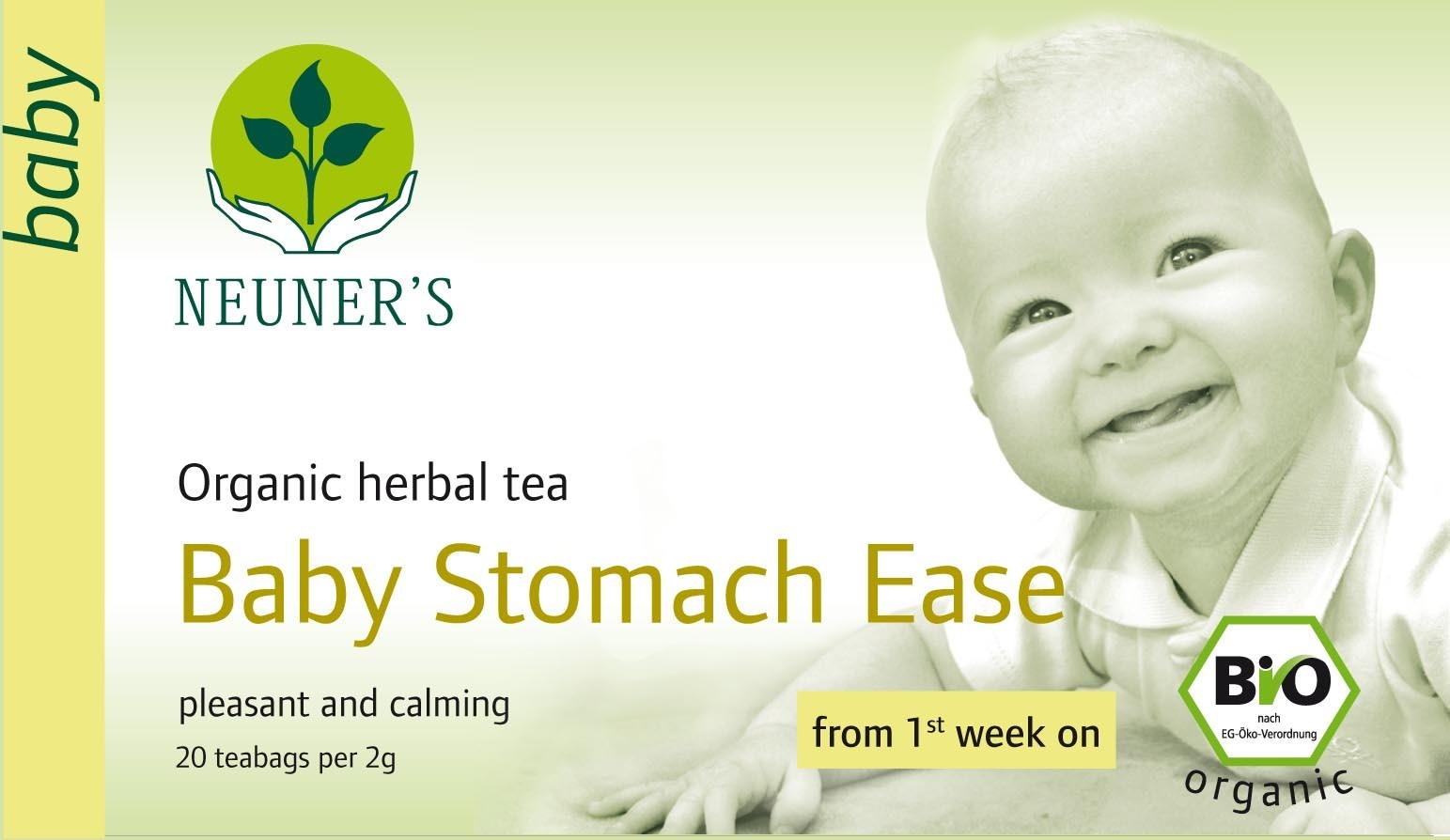 Neuner's Organic Baby Stomach Ease Tea