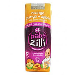 Baby Zilli Org Orange Mango Apple Drink 250ml