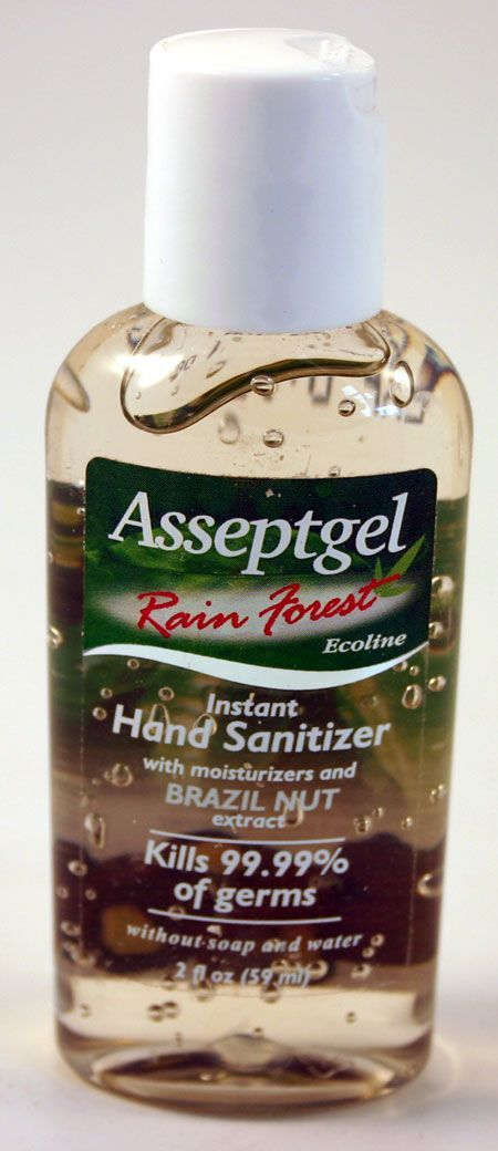 Instant Hand Sanitizer Rainforest Brazil Nut 59 ml