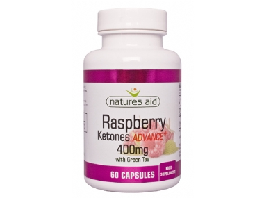 Natures Aid Raspberry Ketones Advance+ 400mg