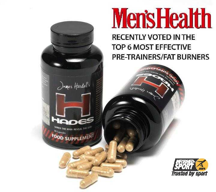 James Haskell Bodyfire Hades Fat Burner 90 Capsules