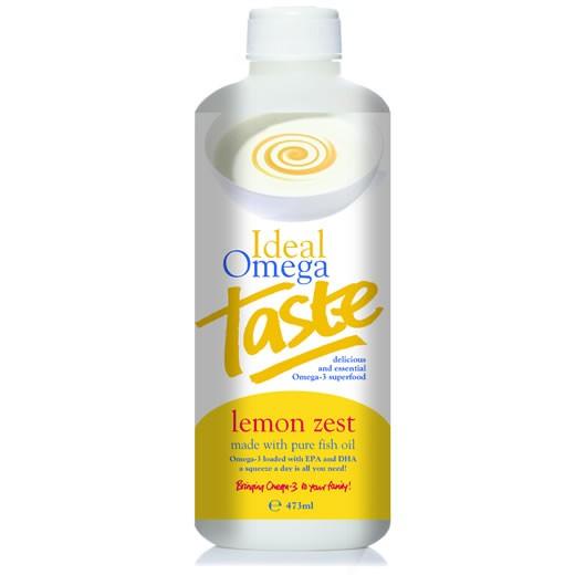 Ideal omega taste lemon zest fish oil 473ml for Fish oil alternative