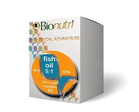 Bionutri fish oil dha 5 1 epa 1200mg 90 capsules for Fish oil alternative