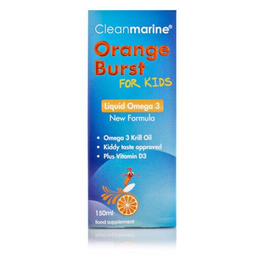 Orange Burst for Kids Liquid Omega 3 150ml