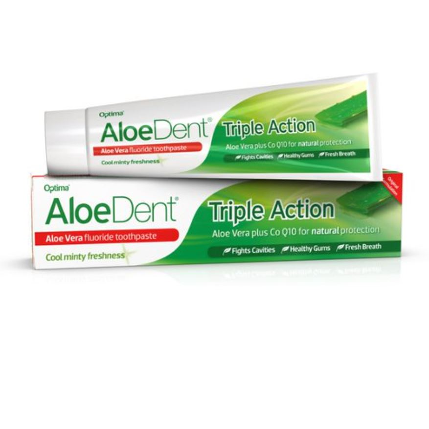 Aloe Vera Fluoride Toothpaste Triple Action 100ml