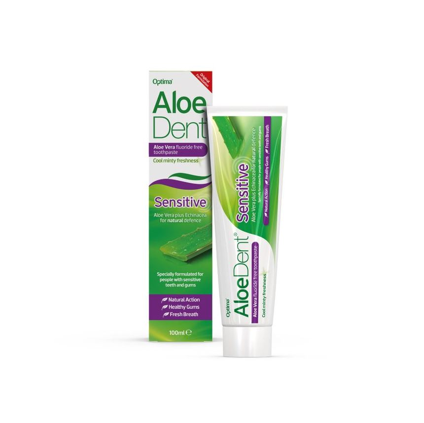 Aloe Vera Fluoride Free Toothpaste Sensitive 100ml