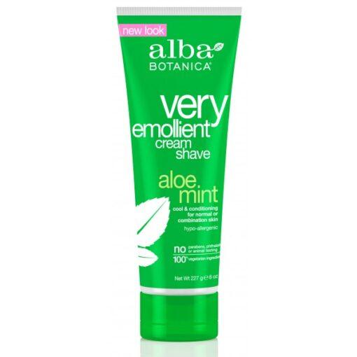 Very Emollient Cream Shave Aloe Mint 227g