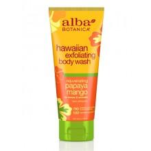 Hawaiian Exfoliating Body Wash Papaya Mango 200ml