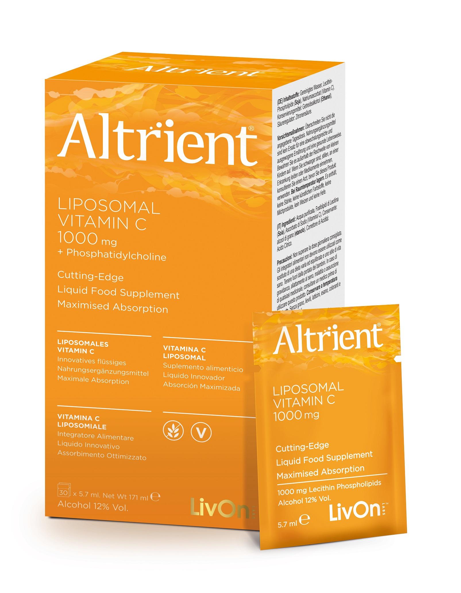 Liposomal Vitamin C 1000mg 30 Sachets