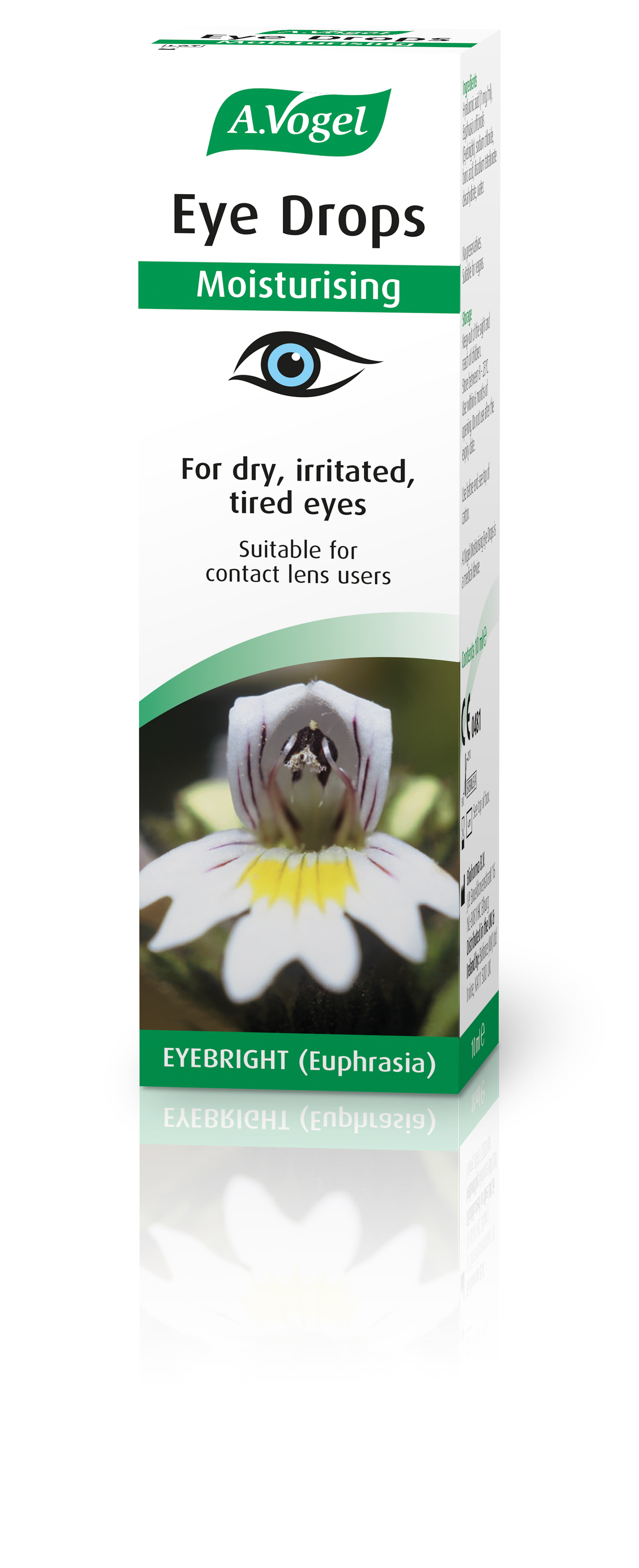 Eye Drops Moisturising (Green Strip) 10ml