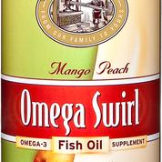 Omega Swirl Fish Oil Mango Peach 227ml