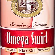 Omega Swirl Flax Oil Strawberry Banana 227ml
