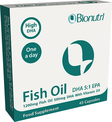 Fish Oil DHA 5:1 EPA 1200mg 45's