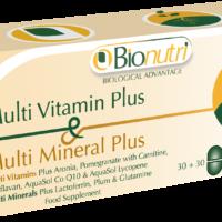 Multi Vitamin & Mineral Plus 30 + 30