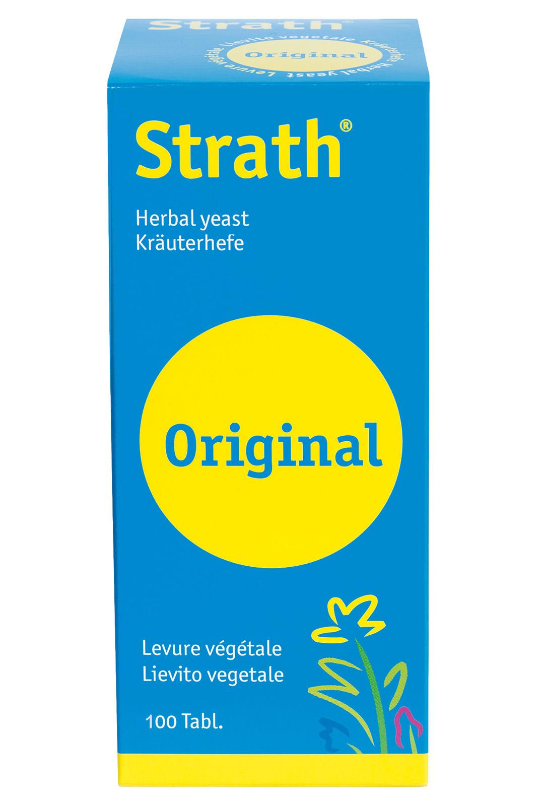 Strath Original Tablets 100's