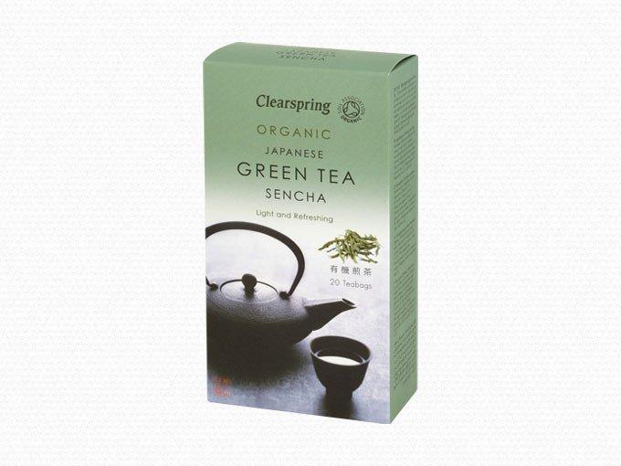 Organic Japanese Green Tea Sencha 20 BAGS