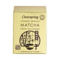 Japanese Organic Matcha Green Tea Powder Ceremonial Grade (tin) 30g