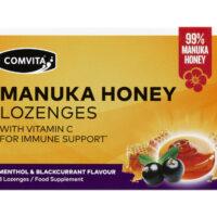 Manuka Honey Lozenges Menthol & Blackcurrant Flavour 8's
