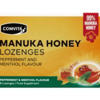 Manuka Honey Lozenges Peppermint & Menthol Flavour 8's