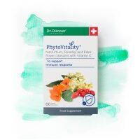 PhytoVitality Nasturtium, Rosehip and Elderflower with Vitamin C 60's