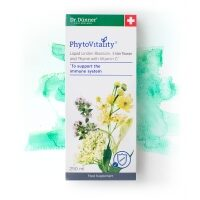 PhytoVitality Liquid Linden Blossom, Elderflower and Thyme  with Vitamin C 250ml