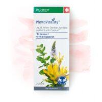 PhytoVitality Liquid Yellow Gentian, Melissa, Mint, Calcium 250ml