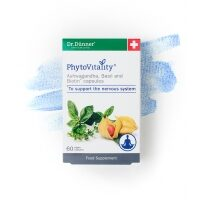 PhytoVitality Ashwagandha, Basil and Biotin 60's