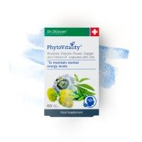 PhytoVitality Rhodiola, Passion Flower, Copper, Vitamin B with Zinc 60's