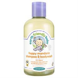 Happy Mandarin Shampoo & Body Wash 250ml