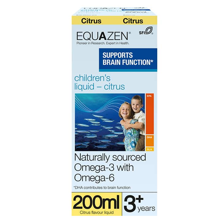 Children's Liquid Citrus Flavour 200ml