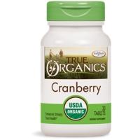 True Organics Cranberry 30's