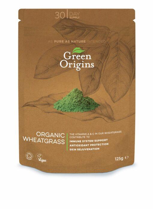 Organic Wheatgrass Powder 125g