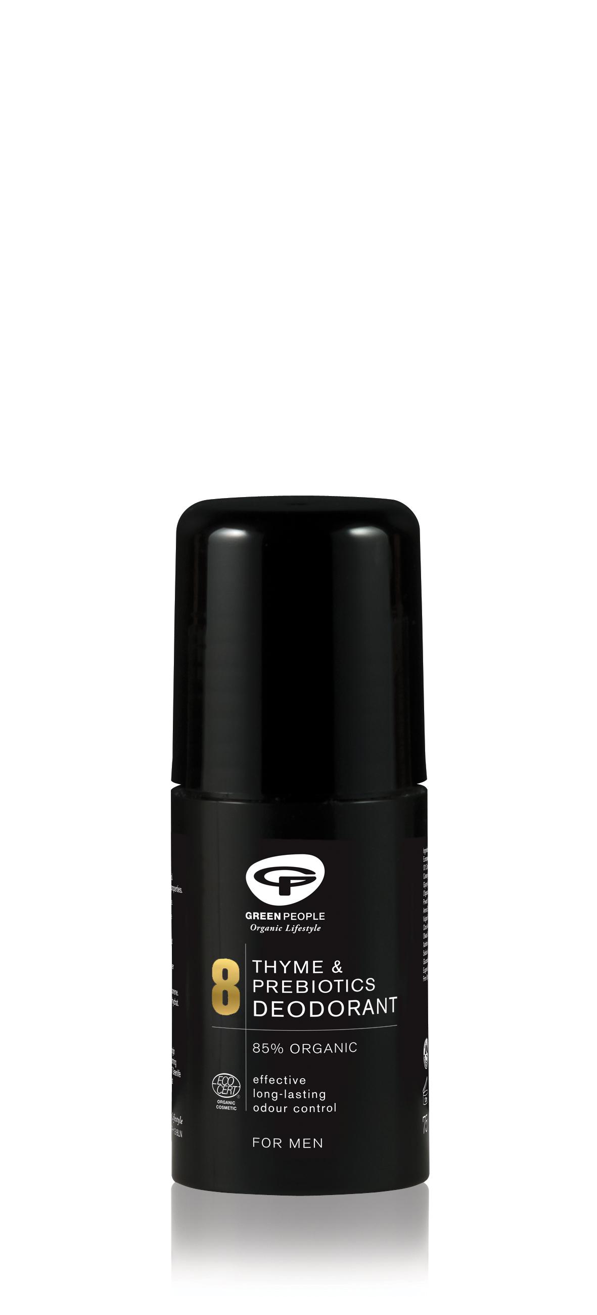 Thyme & Prebiotics Deodorant For Men 75ml
