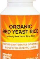 Organic Red Yeast Rice 120's