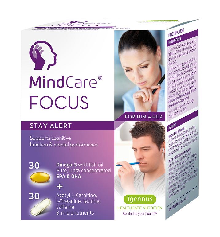 MindCare Focus 30 +30 capsules