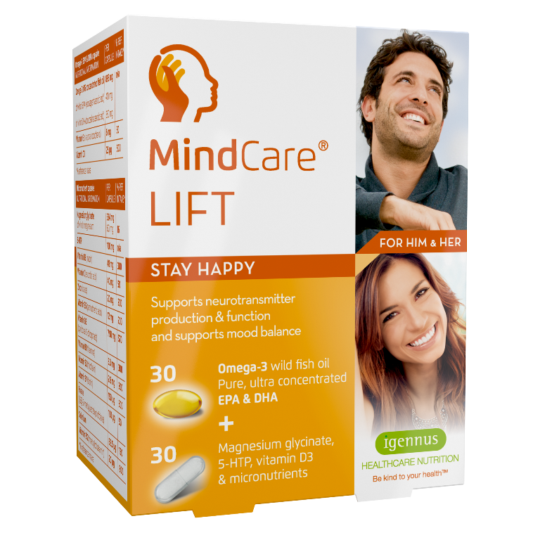 MindCare Lift 30 + 30 caps