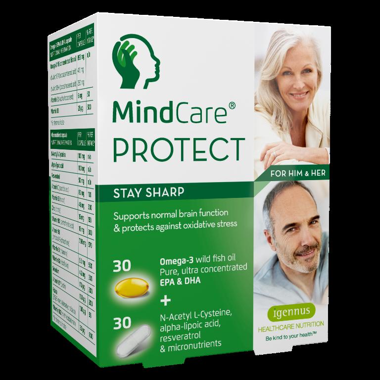 MindCare Protect 30 + 30 capsules