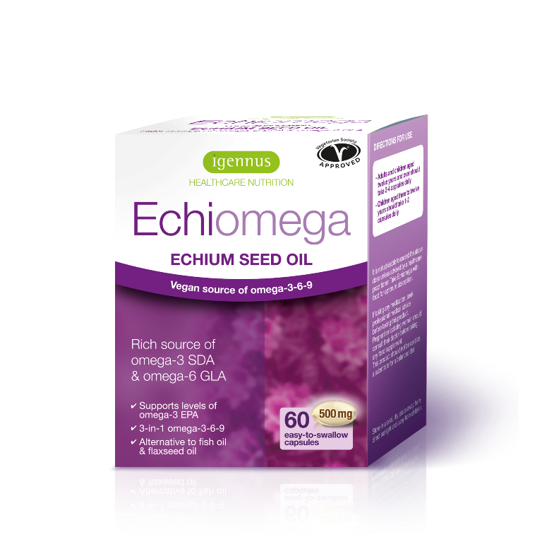 Echiomega 500mg 60's