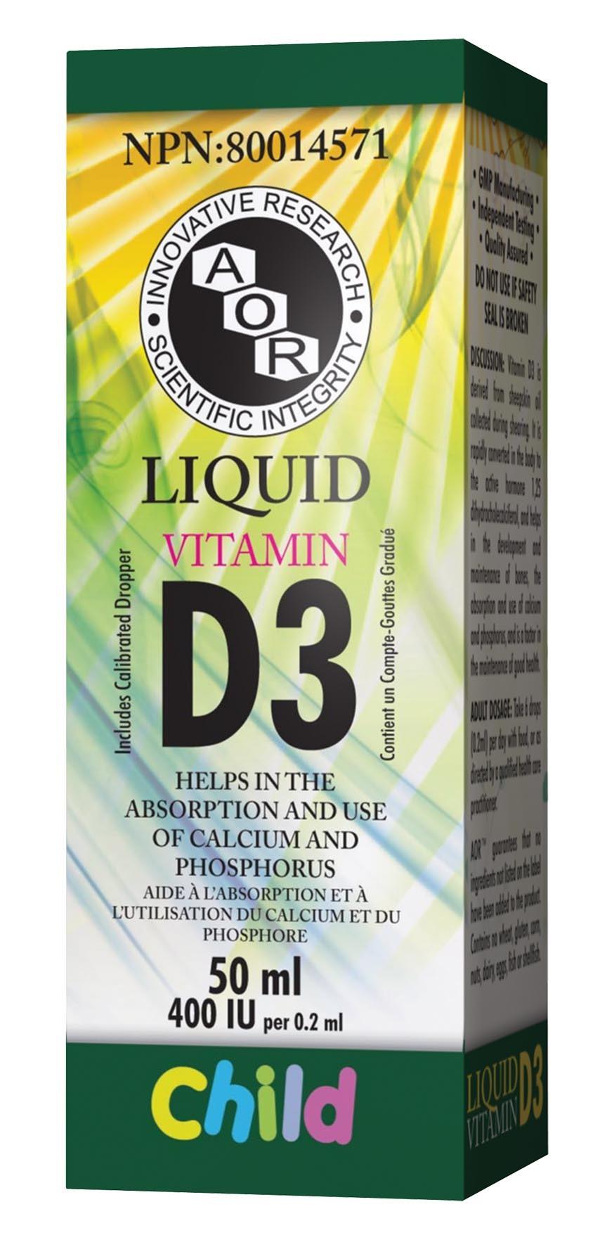 Vitamin D3 Liquid (CHILD)