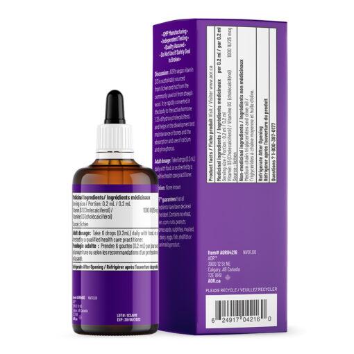 Vitamin D3 Liquid 100ml (ADULT)
