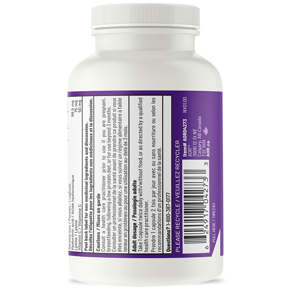 Lysine, Vitamin C And Hyaluronic Acid