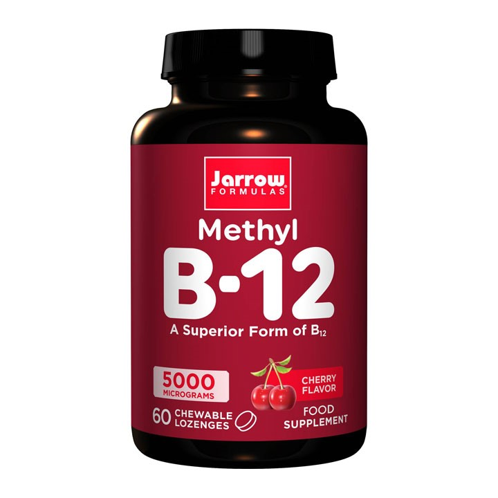 Methyl B-12 5000mcg Cherry 60's