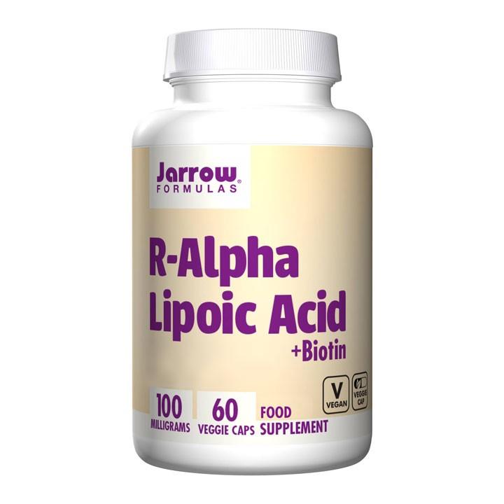 R-Alpha Lipoic Acid + Biotin 60's