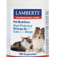 Pet Nutrition High Potency Omega 3s for Dogs and Cats 120's