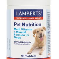 Pet Nutrition Multi Vitamin & Mineral Formula for Dogs 90's