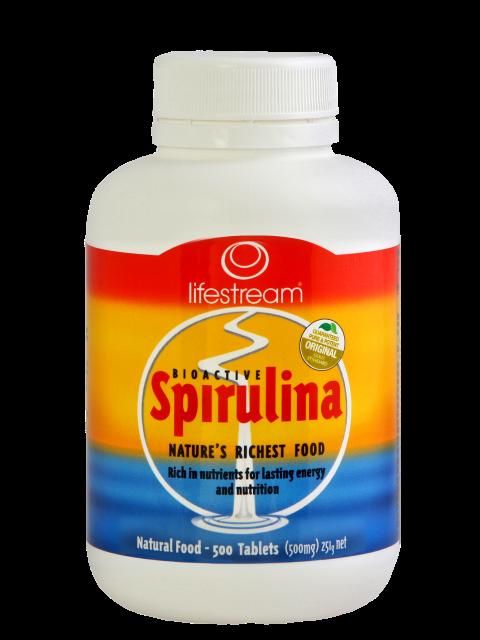 Bioactive Spirulina 500mg 500's