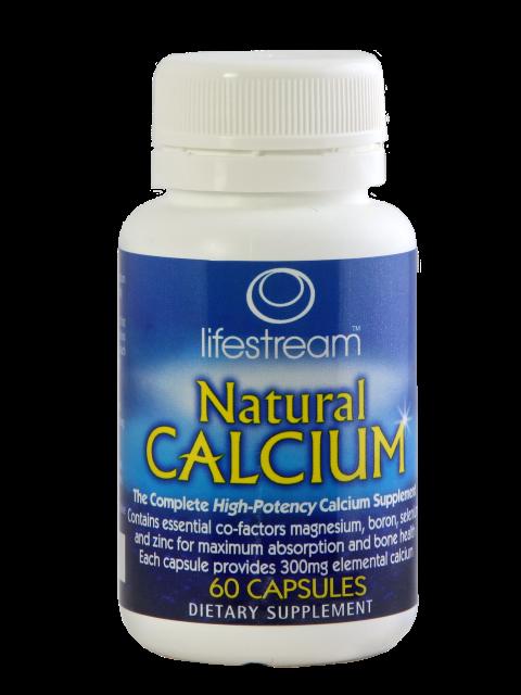 Natural Calcium 60's