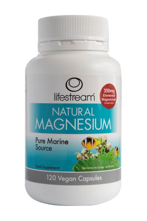 Natural Magnesium 120's