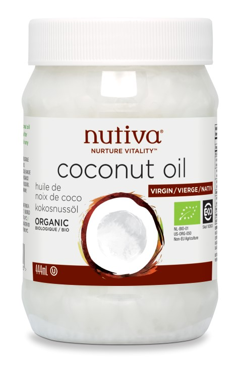 Organic Coconut Oil Virgin 444ml