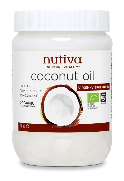 Organic Coconut Oil Virgin 858ml